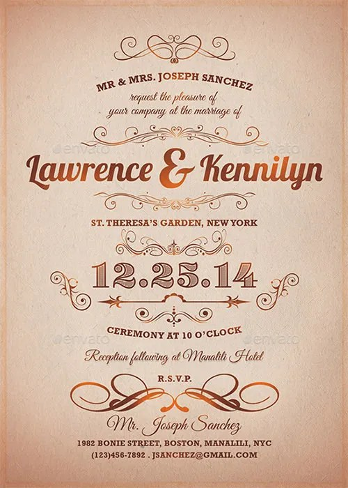 Formal Invitation Templates - 62+ Free PSD, Vector EPS, AI, Format - Formal Invitation