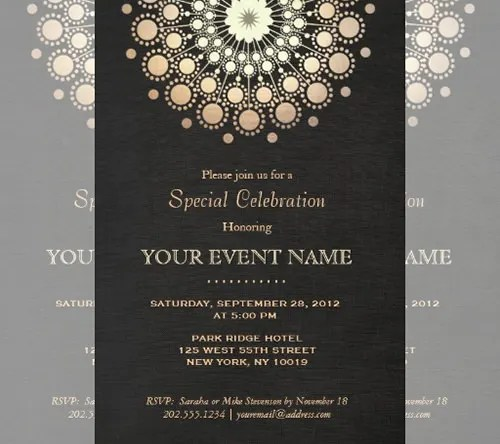 77+ Formal Invitation Templates - PSD, Vector EPS, AI Free