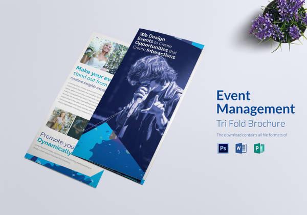 23+ Event Brochure Templates  PSD Designs Free  Premium Templates - flyers and brochures templates