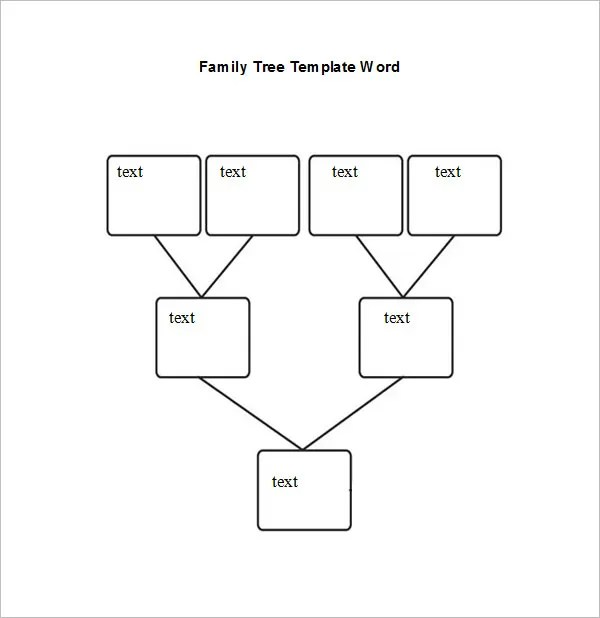 Blank Family Tree Chart -10 Free Excel, Word Documents Download - family tree chart template