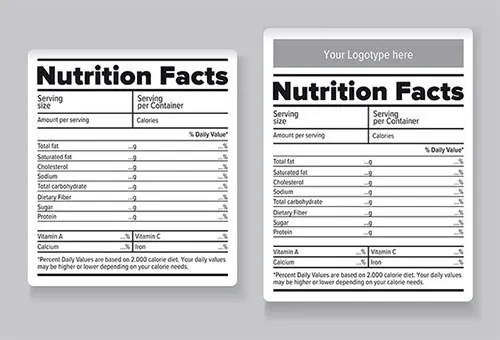 20+ Food Label Templates - Free PSD, EPS, AI, Illustrator Format - ingredient label template