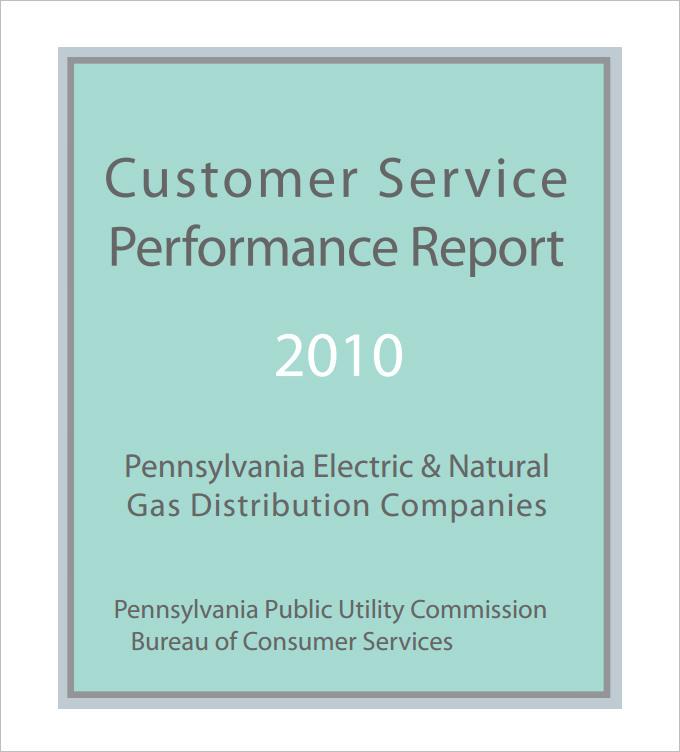 service report templates
