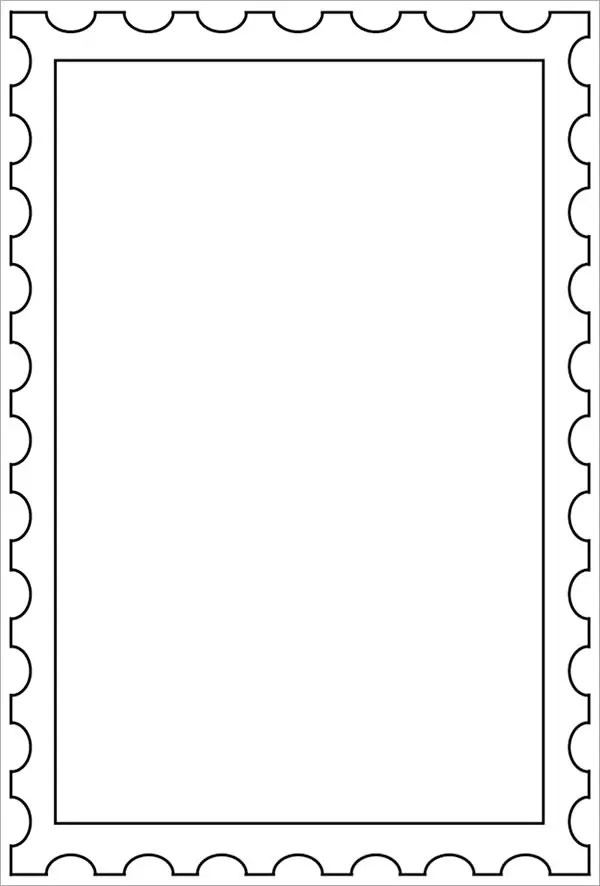stamps template - Funfpandroid - stamp template
