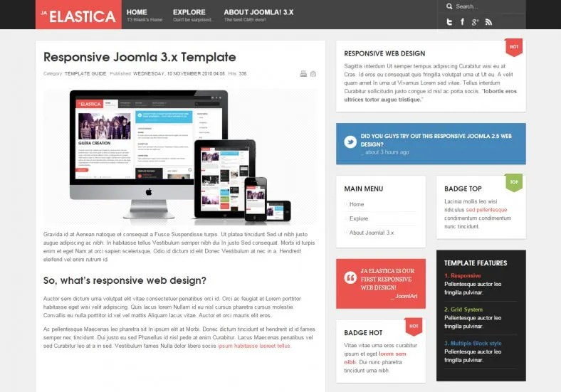 8+ Best Web Development Company Joomla Templates  Themes Free
