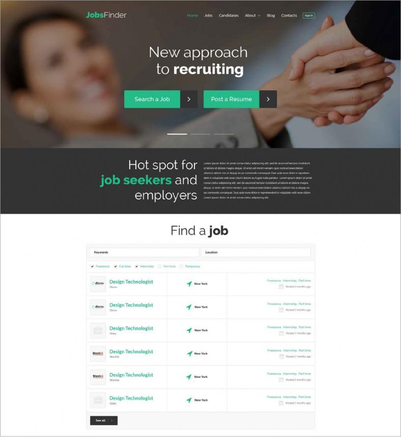 10 Best Resume Wordpress Templates \ Themes Free \ Premium Templates - wordpress resume template