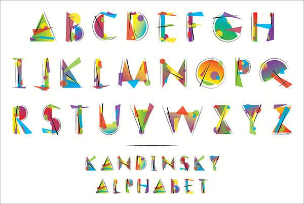 23+ Large Alphabet Letter Templates  Designs Free  Premium Templates - letters templates to print