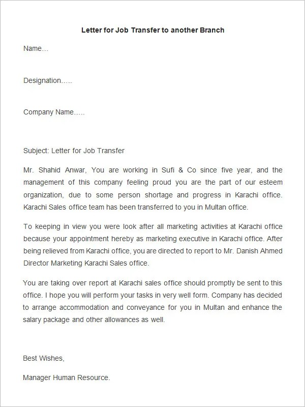 cover letter for appointment secretary