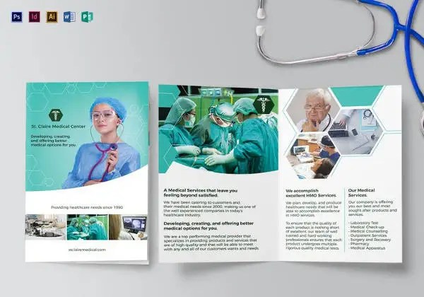Medical Brochure Templates \u2013 41+ Free PSD, AI, Vector EPS, InDesign