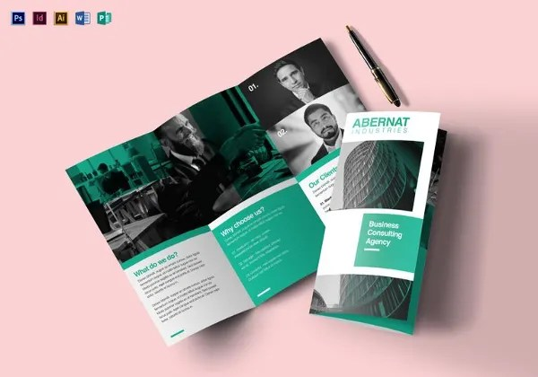 40+ Brochure Design Ideas and Examples! Free  Premium Templates - brochure design idea example