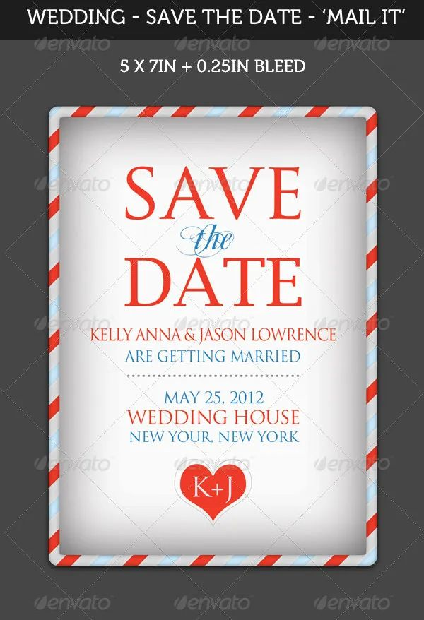 free save the date template