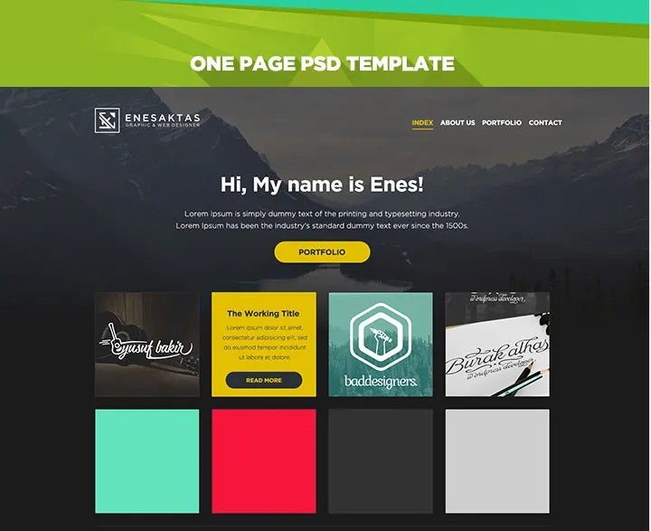 60+ Free PSD Website Templates Free  Premium Templates Free