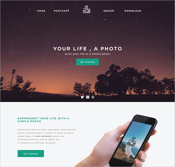 60+ Free PSD Website Templates Free  Premium Templates Free - simple website templates