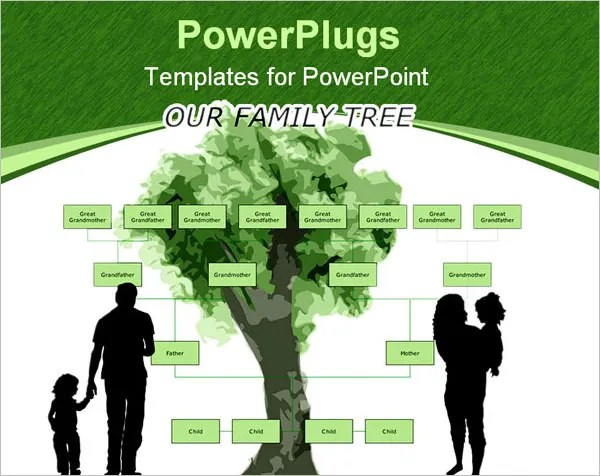 PowerPoint Family Tree Template \u2013 10+ Free Sample, Example, Format - family tree example