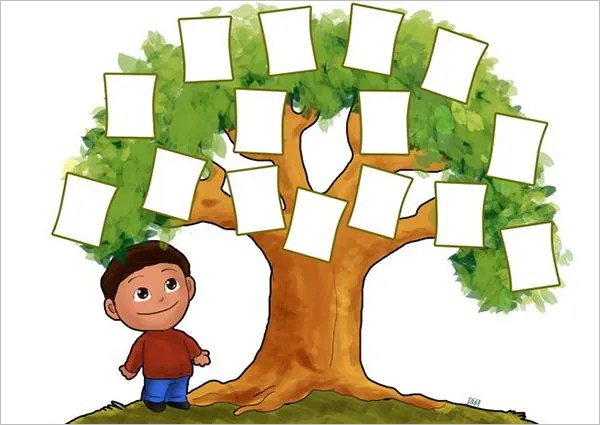 family tree for kids - Josemulinohouse - ms office family tree