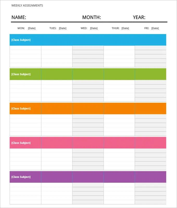 blank itinerary template - jembatan-timbang.co, Powerpoint templates