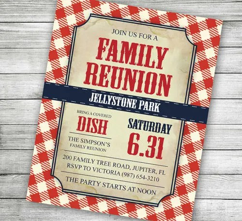 34+ Family Reunion Invitation Template - Free PSD, Vector EPS, PNG - free printable family reunion invitations