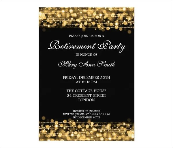 free retirement party invitation templates for word - Juve - free retirement party invitations