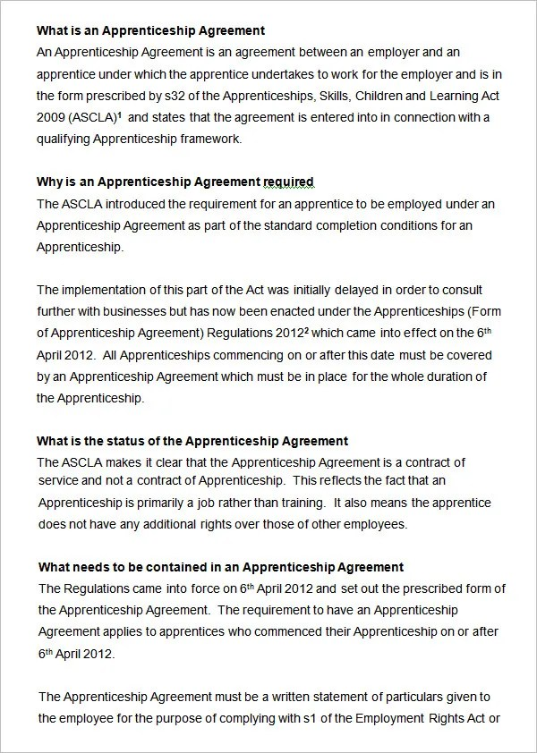 14+ HR Contract Templates HR Templates Free \ Premium Templates - training agreement contract