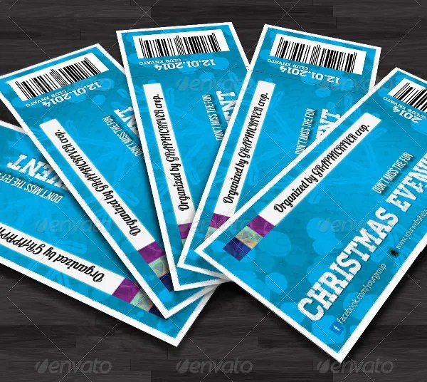 Ticket Invitation Template - 54+ Free PSD, Vector EPS, AI, Format