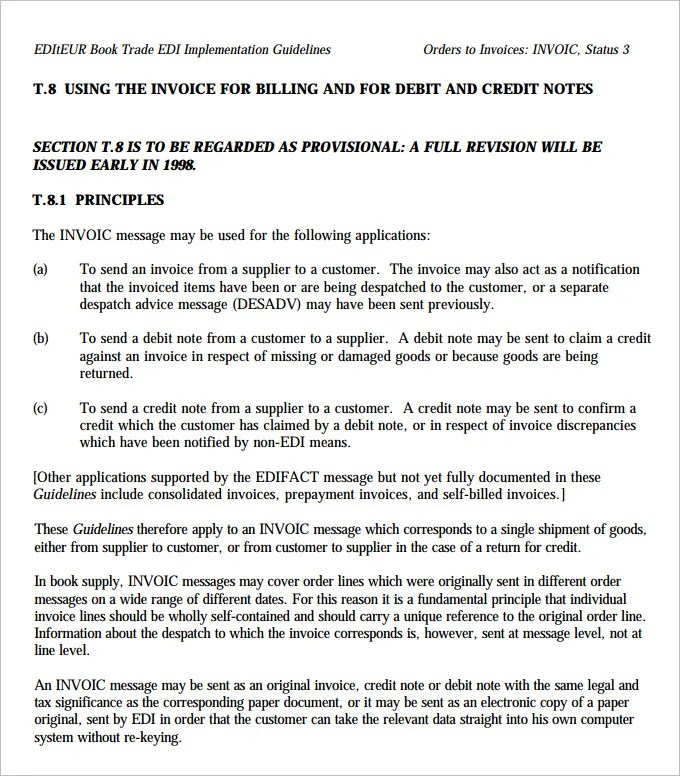 Credit Note Template - 19+ Free Word, PDF Documents Download - debit note letter sample