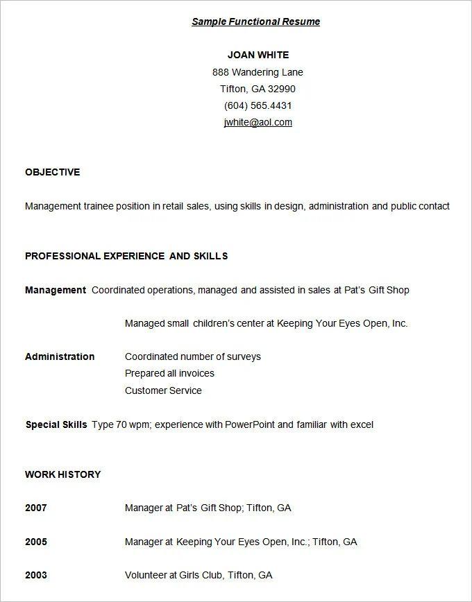 sample editor combination resume