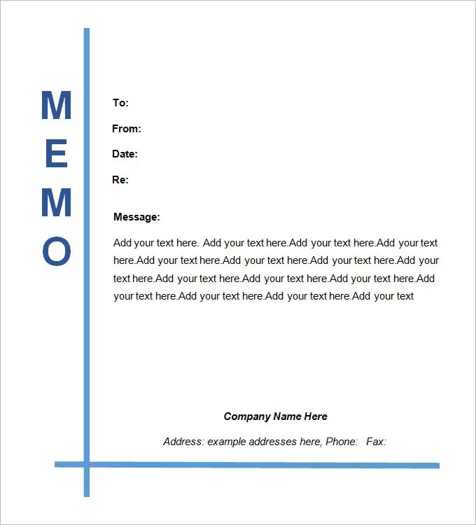 Legal Memo Templates -13+ Free Word, Excel,PDF Documents Download - memo sample in word