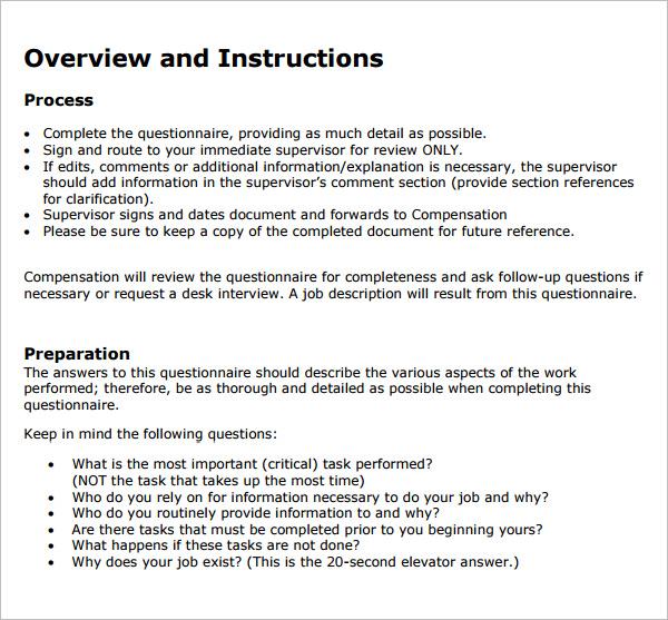 30+ HR Questionnaires Templates HR Templates Free  Premium