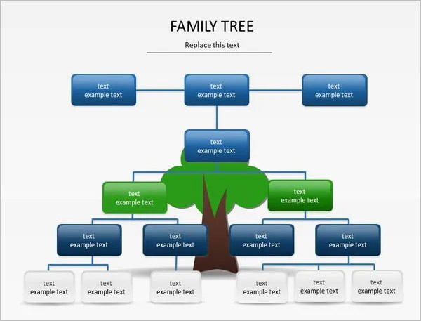 9+ PowerPoint Family Tree Template - PPT Free  Premium Templates