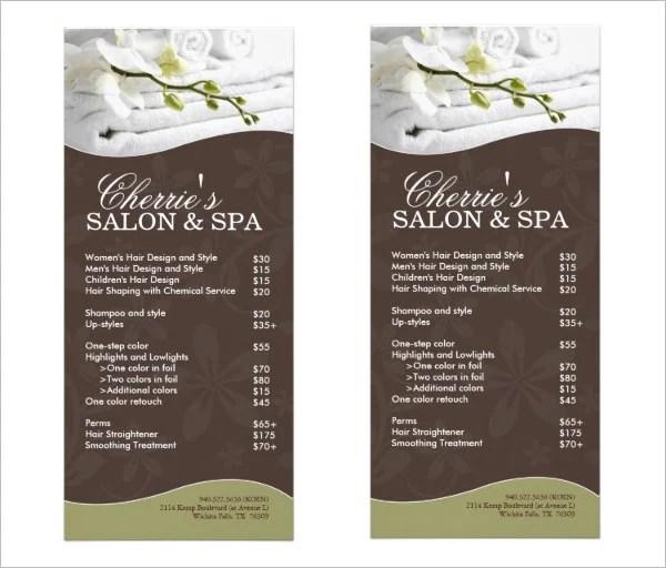 Sample Spa Menu Template Creative Design Valentine Menu Template - sample menu template