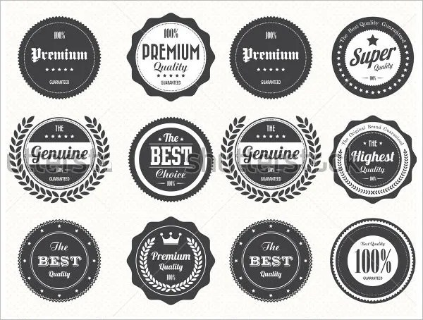 stamp logo template - Funfpandroid - stamp template