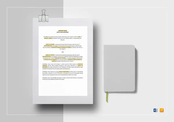 Commercial Rental Agreement \u2013 17+ Free Word, PDF Documents Download