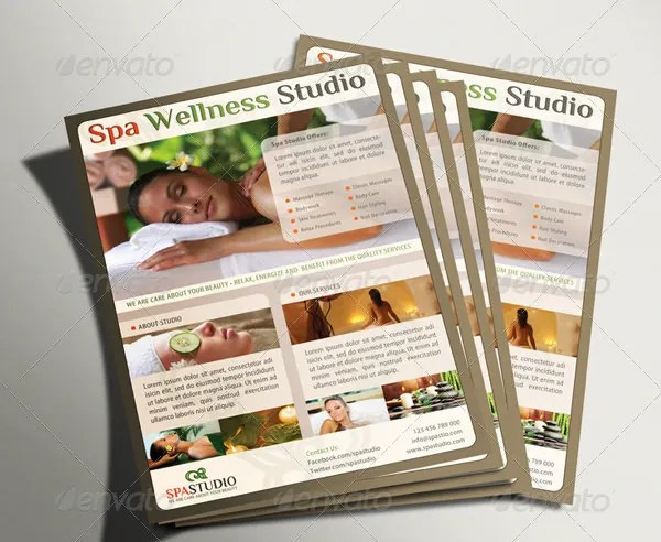 Spa Menu Templates \u2013 27+ Free PSD, EPS Documents Download! Free