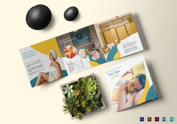 16+ Amazing Spa Brochure Template  Designs Free  Premium Templates