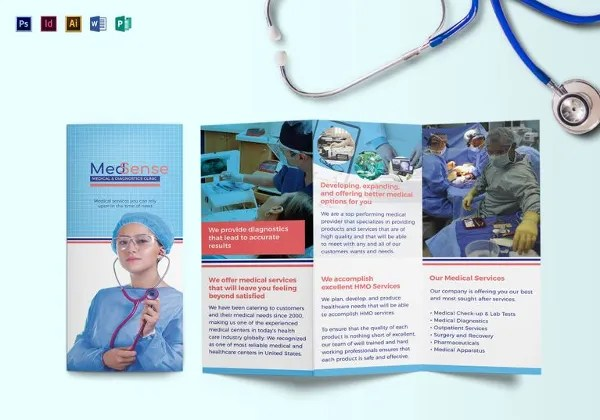Microsoft Brochure Template - 49+ Free Word, PDF, PPT, Publisher - medical brochures templates