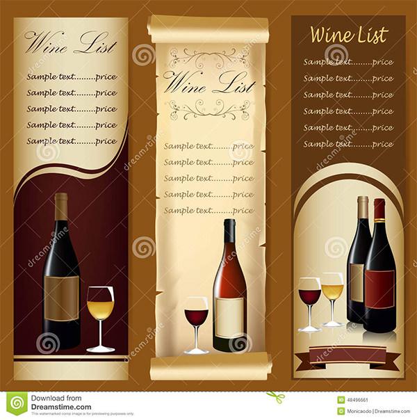 Wine Menu Templates \u2013 31+ Free PSD, EPS Documents Download! Free