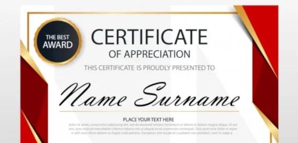 30+ Certificate of Appreciation Templates - Word, PDF, PSD Free