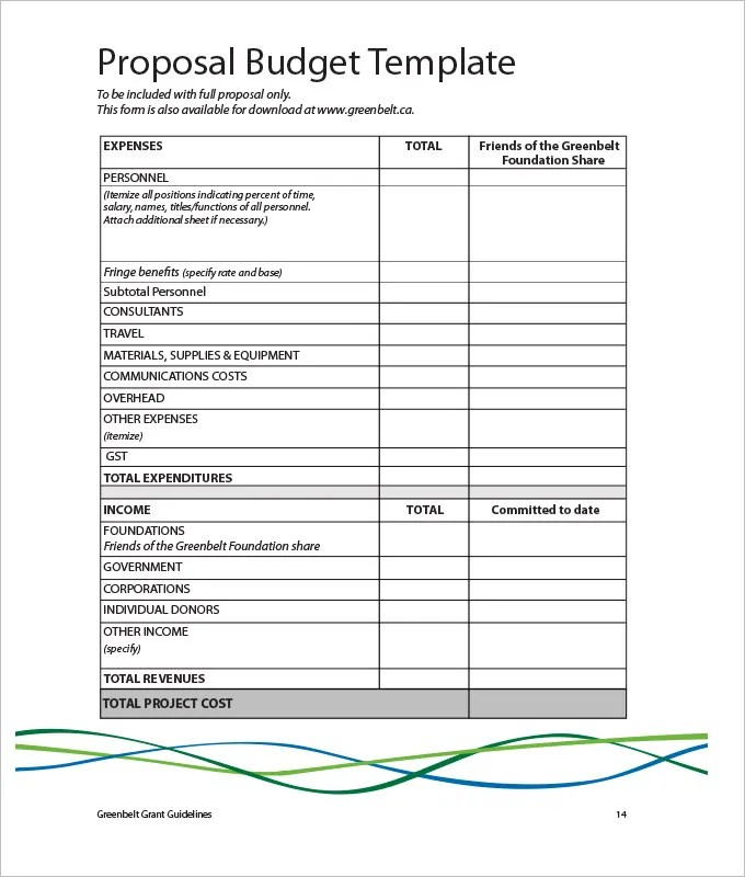 Marketing Budget Template - 22+ Free Word, Excel, PDF Documents