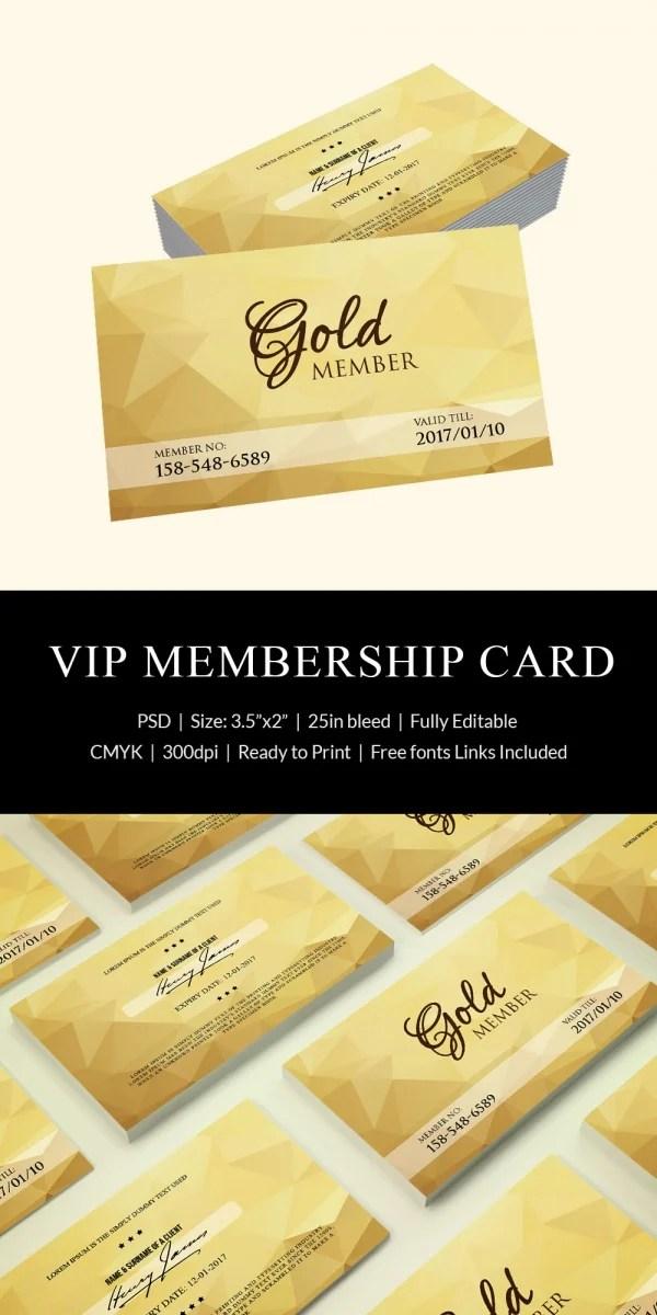 Membership Card Template Word - Fiveoutsiders
