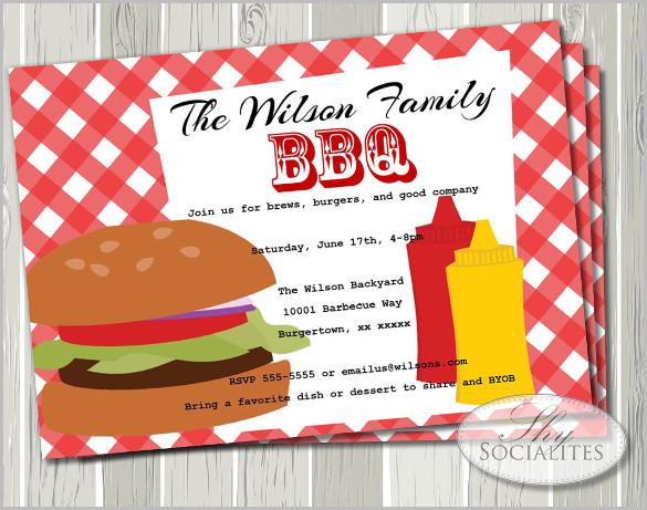53+ BBQ Invitation Templates Free  Premium Templates Free