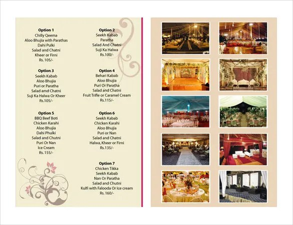 Catering Menu Template \u2013 36+ Free PSD, EPS Documents Download - free catering menu template