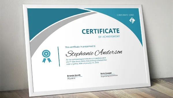 sample graduation certificate