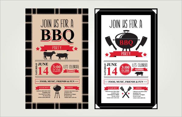 52+ BBQ Invitation Templates - PSD, Vector EPS, AI Free  Premium