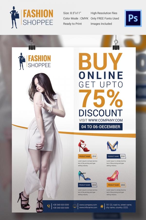 Fantastic Promo Flyer Template Vignette - Resume Ideas - namanasa - promotional flyer designs