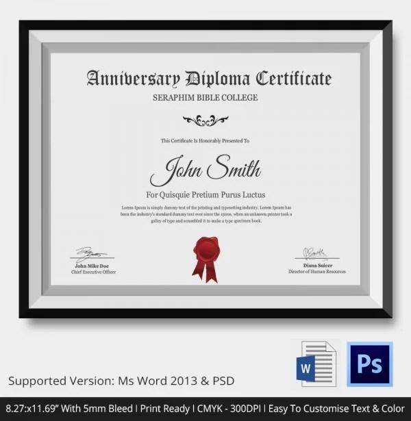 Free printable graduation certificate templates - visualbrainsinfo - graduation certificate template free