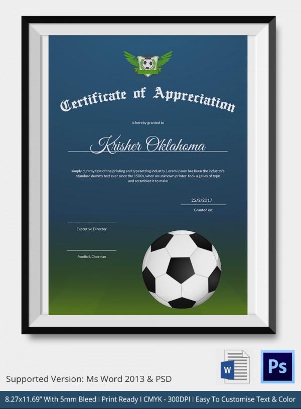 Soccer Awards Template | kicksneakers.co