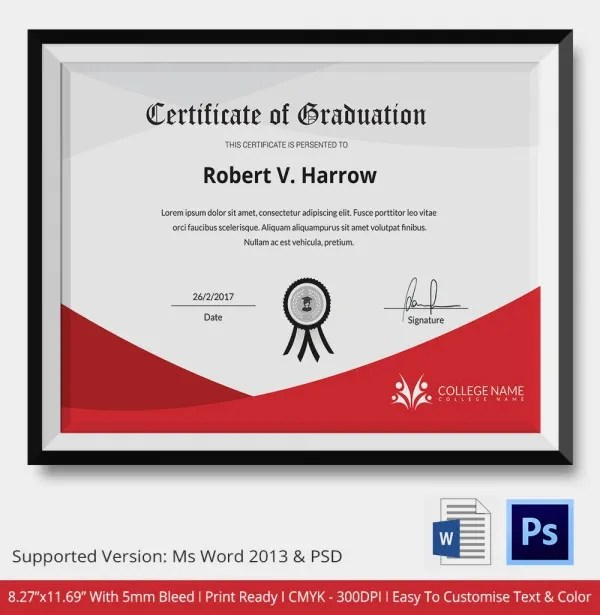 Sample diploma certificate template image collections graduation certificate template free hitecauto diploma template word 28 images diploma certificate template graduation certificate template yadclub Image collections