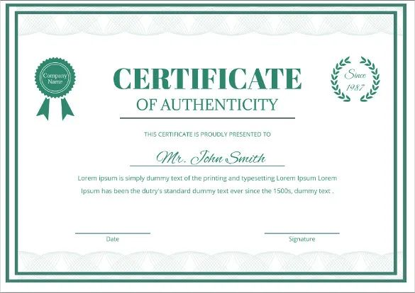 medical certificate templates