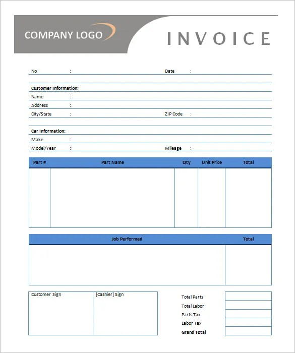 Rental Invoice Rent Invoice Template Rent Invoice - Format - invoice template generator