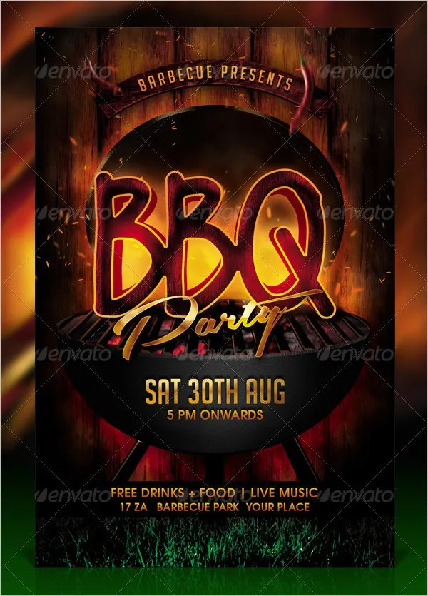 53+ BBQ Invitation Templates Free  Premium Templates Free - flyer invitation templates free