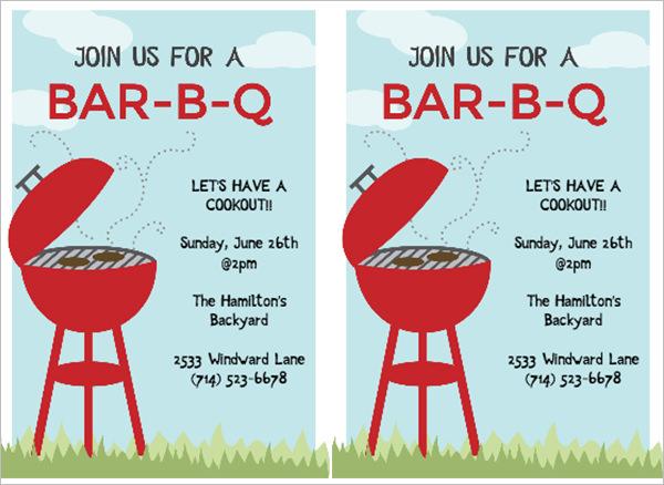 53+ BBQ Invitation Templates Free  Premium Templates Free - bbq invitation template